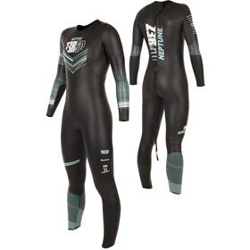 Z3R0D Neptune Wetsuit Dames, black/turquoise